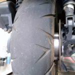 タイヤの溝ありますか?